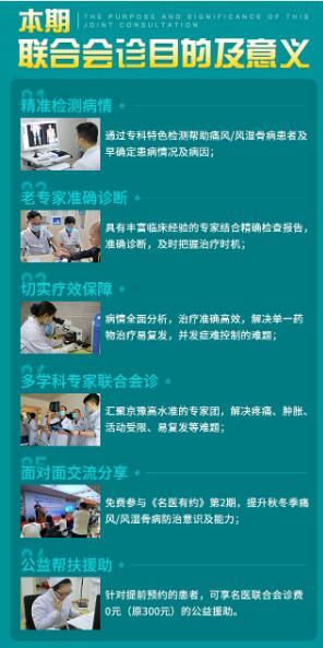 首都医科大学附属医院名老教授领衔三甲名医团公益联合会诊即将开展